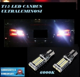 AUDI A5 COUPE 6000K LAMPADE RETROMARCIA A LED T15 W16W CANBUS FREE ERROR