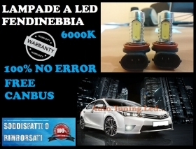 2x LAMPADE FENDINEBBIA HB4 9006 LED CREE COB CANBUS 6000K vw scirocco
