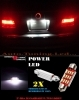 BMW SERIE 5 E39 LUCI TARGA 12 LED SMD BIANCO ALTA QUALITA' 36MM NO ERRORE